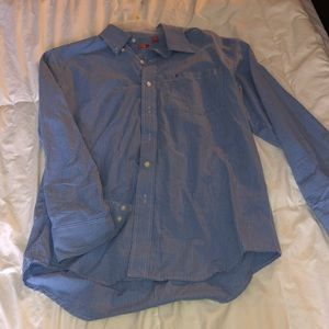 Medium button down baby blue